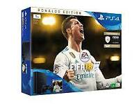 Ps4 with fifa 18 brand new unopened