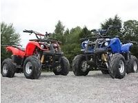 NEW 125CC CONDOR QUAD BIKES WITH FREE MAINLAND UK DELIVERY