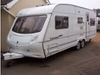 Ace Supreme Sunstar 2006 5 berth twin axle family caravan