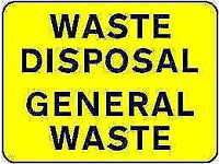 LOW cost General WASTE clearance commercial RUBBISH collection REMOVAL VAN office items rubble END