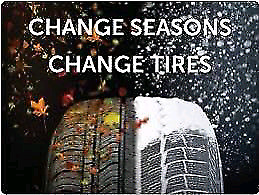 Mobile tire change over service