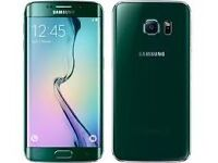 samsung s6 edge emerald green boxed as new 32gb in immaculate condition