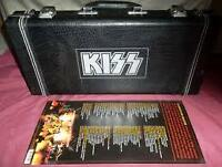 """ KISS BOXED GUITAR  DVD SET(NEW)"" (cds / dvds / vhs - by owner)"