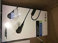 Bose QuietComfort 20i Acoustic Noise-Cancelling Earphones - Black- Brand New with receipt- BARGAIN