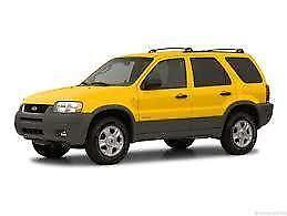 2003 ford escape limited owners manual