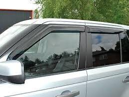 LAND  ROVER RANGE ROVER SPORT 2006-2013 WIND DEFLECTOR KIT SET 4 PIECE #DA6076