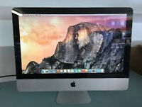 "Apple iMac 21.5"" Widescreen (mid 2010) Core i3 4g 500g Yosemite"