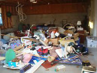 cleaning up - junk removal