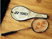 Yonex lightweight carbon badminton racket as new,£45,iv got few other rackets too