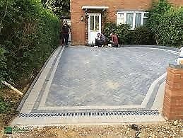 Number 1 Landscapes Garden Services Flagging Fencing Turfing Block Paving  Trees Driveways Decking