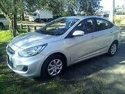2013 Hyundai Accent Sedan Chain Valley Bay Wyong Area Preview