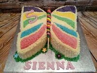 During January we offer a 10% discount on any children`s birthday cakes booked with Carlas Cakes!