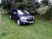 Honda Cr-V I-CTDI EX + PANORAMIC ROOF + NAV + CAMERA + LEATHER 2.2 LOW MILAGE ONLY 78500