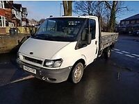55 plate ford transit dropside lorry full 12 months mot