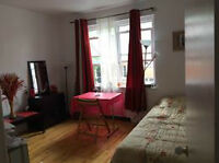 room for sublet from 1th july till 6sept 2015 (370$ all icld)