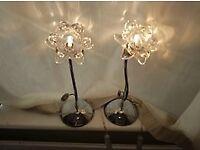 Bellis table Lamp (Rose shape)