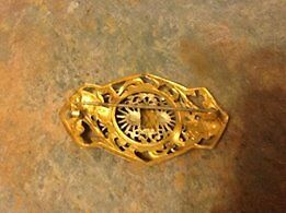 Beautiful Vintage Sash pin from the 1920's Cambridge Kitchener Area image 2