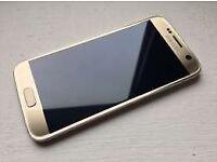 *Samsung S7*UNLOCKED *Gold*