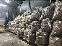 4000kg of Wood Burning Briquettes Firewood Multi Fuel briquettes 200bags