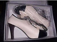 Brand new adorable heeled shoes/ ankle boots size 5.5 or 6
