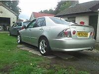 Lexus Is200 sport silver, rwd lsd