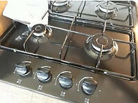 Currys 4 burner Gas hob and instructions