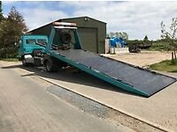 tilt and slide recovery truck mercedes 817 7.5 tonne