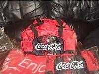 Coca cola Holdall &Towel