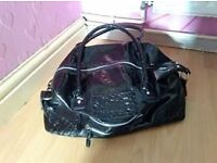 FCUK Black large hand bag Very good condition