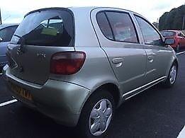 toyota yaris 1.3 5 door mot 1 year taxed insured full tank of fuel runs and drives really well
