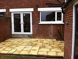 (Ask about other quantities) 20m2 Butterscotch Mix & Match Paving