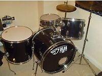 Black Mamba 5 piece Drum Kit