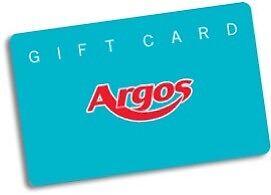 Argos gift cards worth £39.99