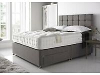 iNSTANT Delivery 🌟🌟Premium Slate Divan Bed Base and Matching Designer Headboard