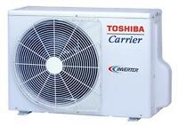 REPARATION THERMOPOMPE CLIMATISEUR AIR CLIMATISE DUCTLESS WALL