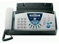 Brother thermal fax answering machine fully working