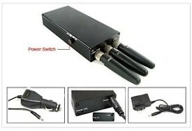 Mobile phone jammer/black box insurance jammer