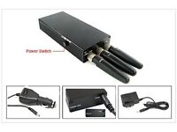 Mobile phone/gps/blackbox jammer