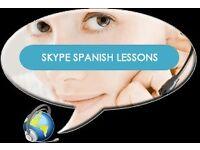 Spanish language tuition via Skype