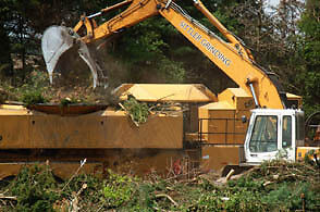 Stump Grinding - Wood and Construction Waste Removal