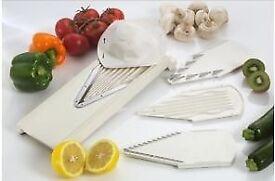 Brand New Borner V Powerline Slicer with Food Safety Holder