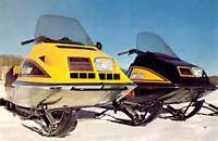 4 Vintage Ski-Doo,s for sale