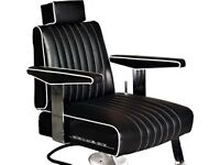 WE RECOVER BELMONT BARBER BARBERING BEAUTY SEATS CHAIR COVERS REMAKE DESIGN