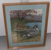 Quilted duck picture for sale