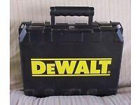 dewalt drill box / tool box