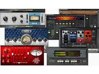 PRO MUSIC/AUDIO PLUG-INS -MAC OR PC -