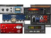 PRO AUDIO PLUG-INS for MAC/ PC