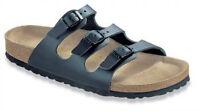 Birkenstock sandals-Florida Soft, smooth leather, black, Size 39