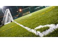 Wednesday night friendly football at Greenwich, Eltham needs players