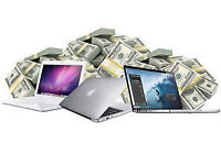 GET CASH FOR YOUR MACBOOK,IMAC,WE PAY THE BEST PRICE